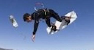 Kite surf : une jolie demo !