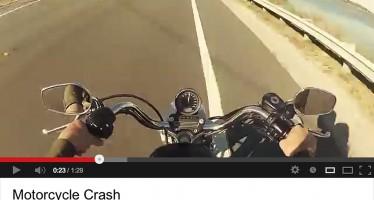 Quand Jean-Claude crashe sa Harley