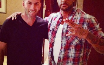 Zidane à Miami : Booba a la photo !