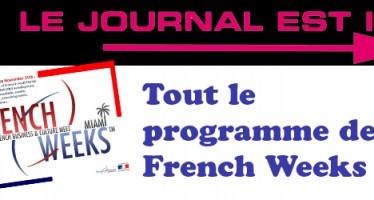 Les French Weeks c'est jusqu'au 15 novembre !
