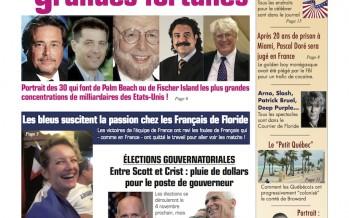 Courrier de Floride Juillet-août 2014