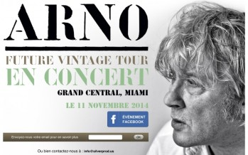 Arno en concert à Miami