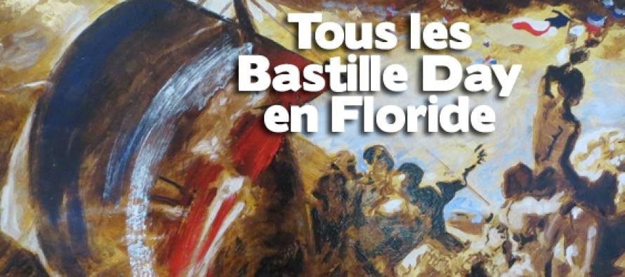 14 juillet : des Bastille Day à Miami et dans toute la Floride