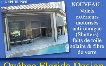 Pour vos habillages de fenêtres en Floride : il y a Gilles Quintin !
