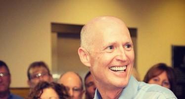 Rick Scott réélu de justesse gouverneur de Floride