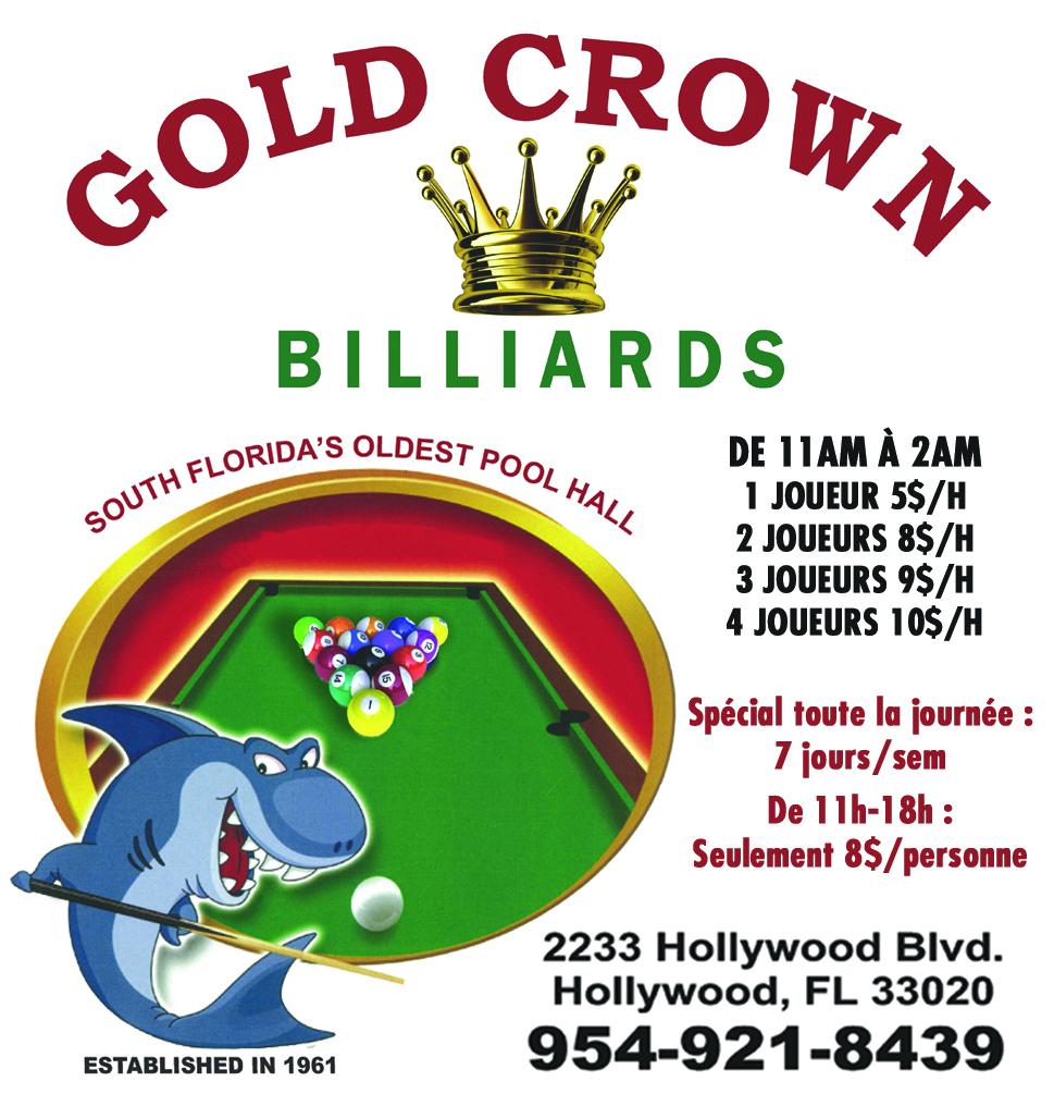 salle de billard en Floride