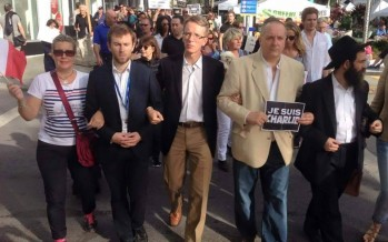 Manifestations à Miami contre les attaques terroristes à Paris