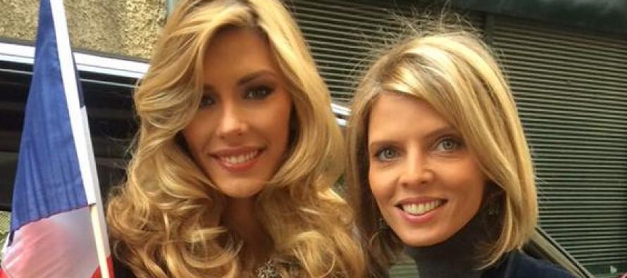Interview de Miss France avant le concours Miss Univers à Miami