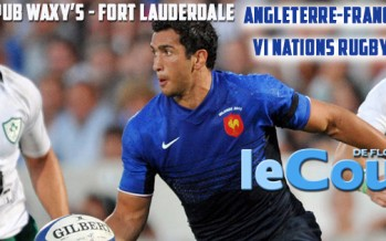 21 mars : Match France-Angleterre de Rugby à Fort Lauderdale