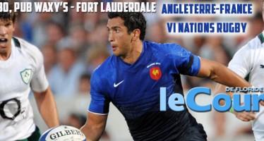21 mars : Match France-Angleterre de Rugby à Fort Lauderdale