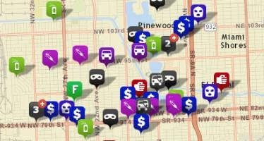 «Crime mapping» aux USA : les cartes de la criminalité à côté de chez vous !