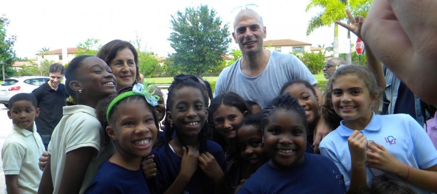 Le groupe IAM a visité le Lycée Franco-Américain de Cooper City