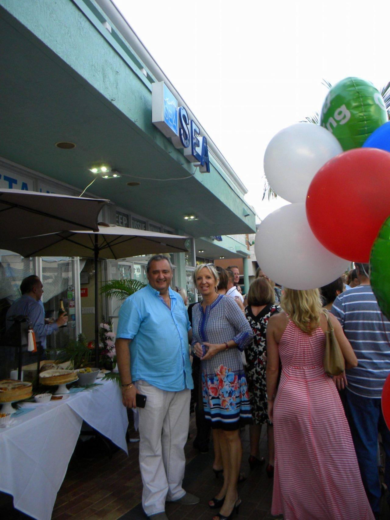 ouverture du Sea restaurant à Lauderdale by the Sea !