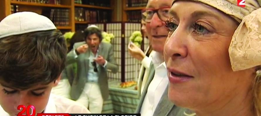 L'arrivée des Juifs en Floride intéresse les journalistes français