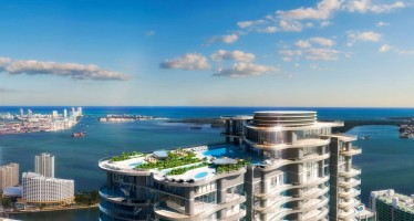 Immobilier : Un flatiron à Brickell-Miami