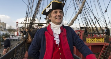 L'Hermione s'en va visiter George Washington (+ les photos de Yorktown)