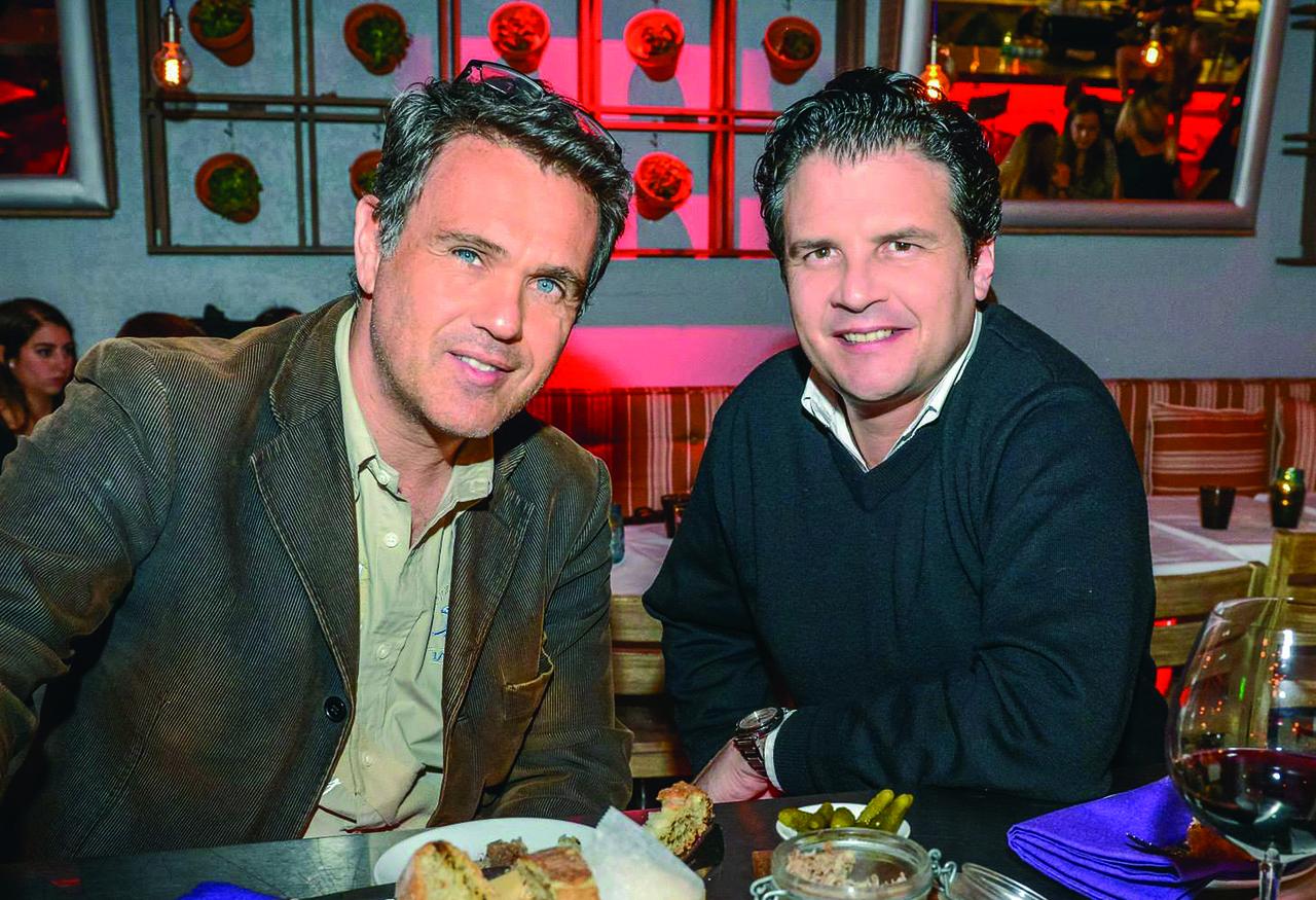 Cyril Kadouch et Eric Even, les organisateurs du 14 juillet de Miami Beach.