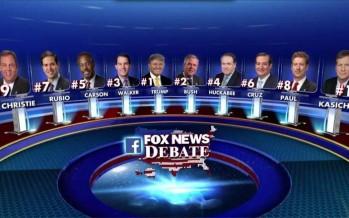 Trump fait le show, mais n'arrive pas à convaincre durant le premier débat républicain
