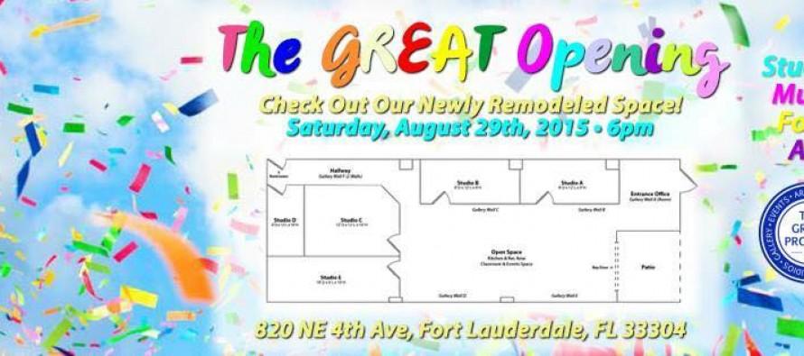 Grand Opening d'artistes à Fort Lauderdale (Mass District)