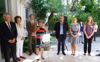 Petit-Déjeuner de Miami-Accueil à la résidence consulaire en septembre !