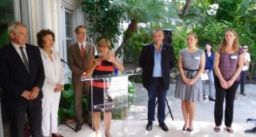 Petit-Déjeuner de rentrée de Miami-Accueil à la résidence consulaire en septembre !