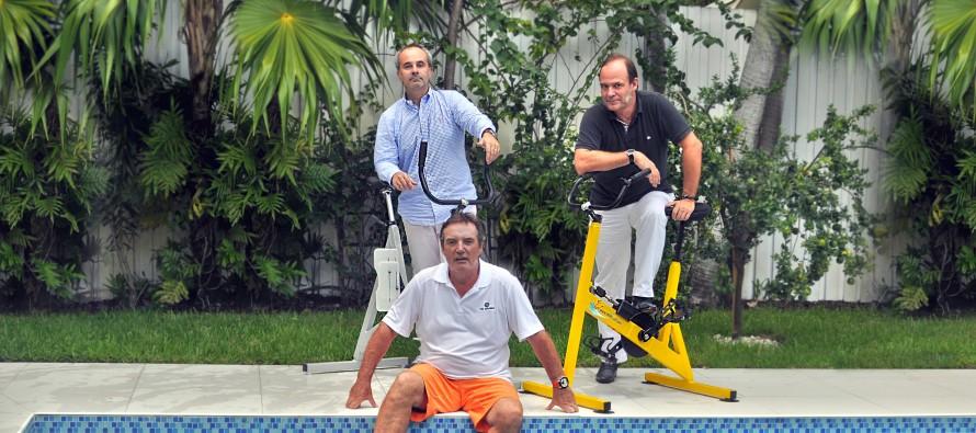 Importer le vélo de piscine aux Etats-Unis… il fallait juste y penser !