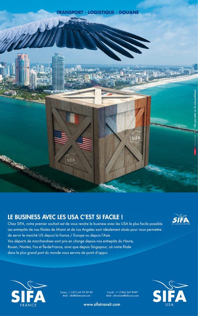 SIFA Transport de Marchandises Etats-Unis
