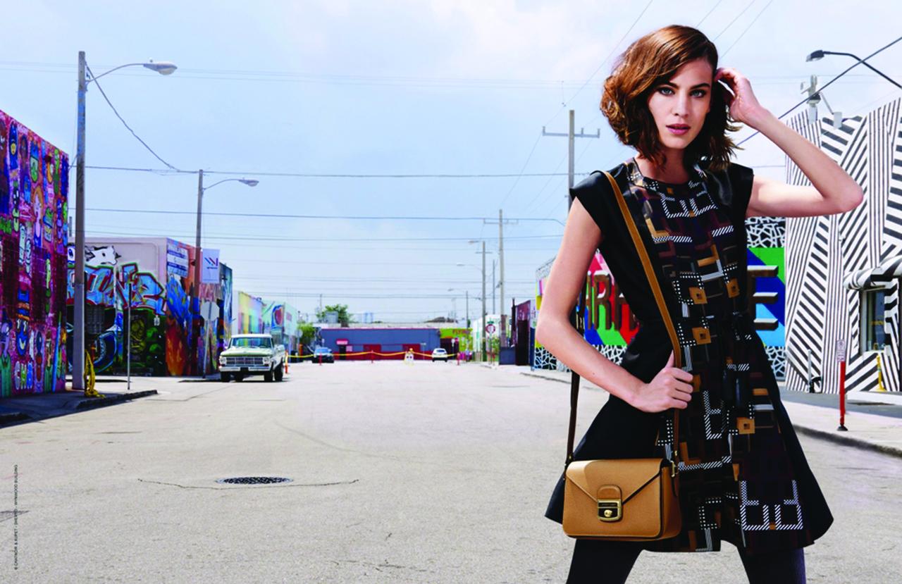 Sac Longchamp à Wynwood Miami