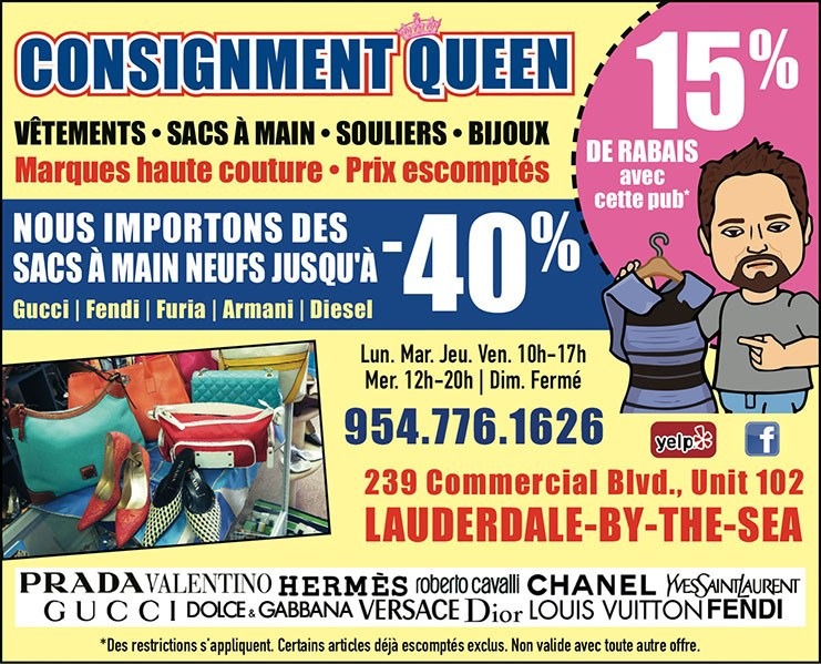 Consignment Queen Lauderdale by the Sea