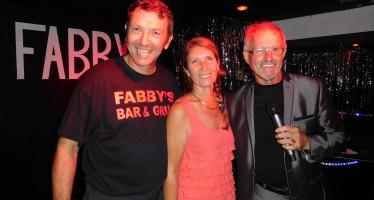 Belle soirée d'ouverture du restaurant Fabby's à Hollywood (Floride)