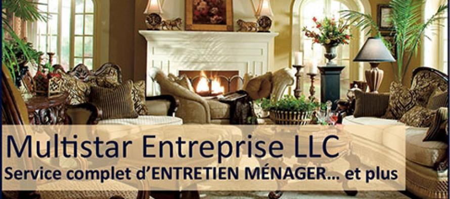 Pour votre entretien ménager en Floride : Multistar Entreprise