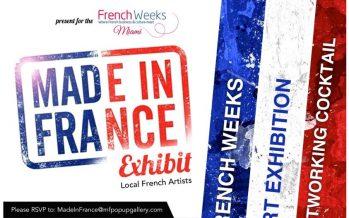 Expo Made in France 2016 : les artistes de Floride peuvent s'inscrire