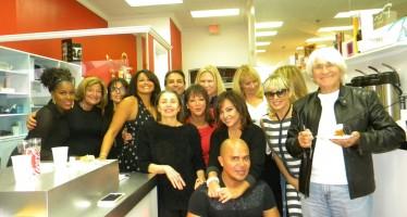 Les photos de la soirée à Pure Salon – Boca Raton