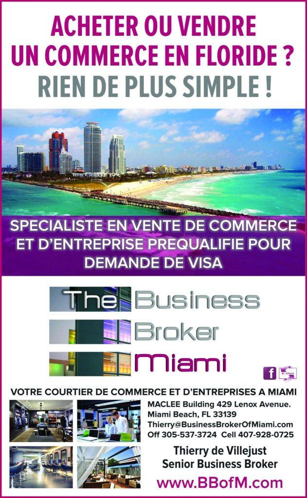 Business Broker Miami - Thierry de VIllejust