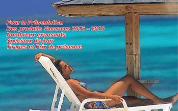 Go-2 Vacations vous invite à son événement de rentrée 2015-2016