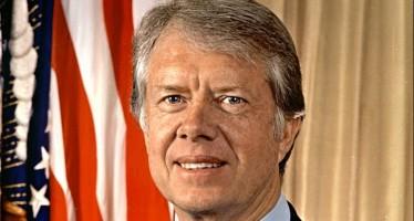 L'ancien président Jimmy Carter s'en va doucement