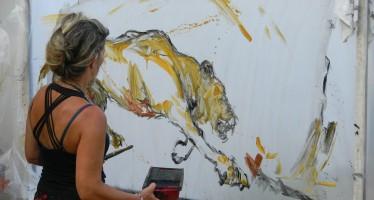 Peinture : Isabelle Litschig à la Miami Art Fair
