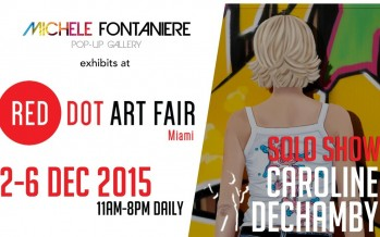 Expos Michèle Fontanière à la Red Dot Art Fair