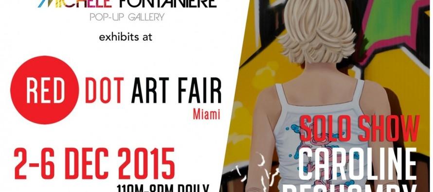 Expos Michèle Fontanière à la Red Dot Art Fair