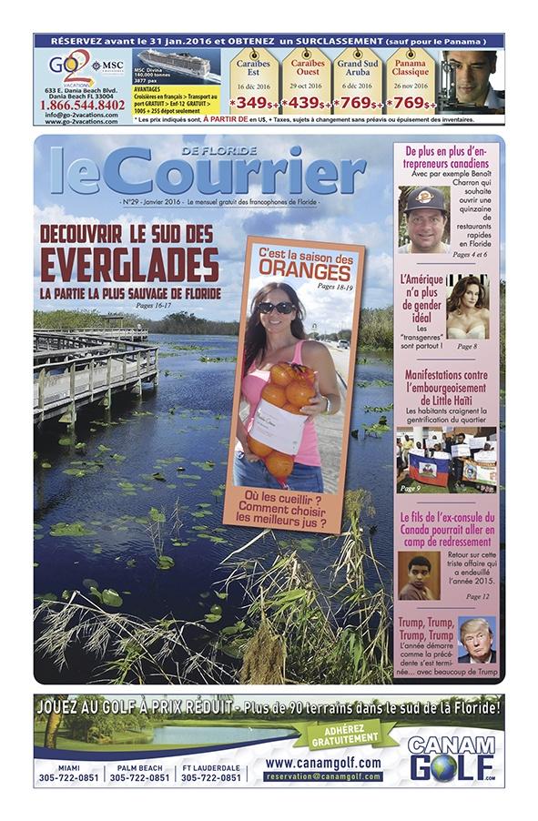 Le Courrier de Floride - Janvier 2016