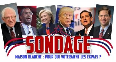 Sondage : Expatriés aux USA, vous voteriez pour quel président américain ?
