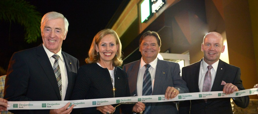 Desjardins Bank à Boynton Beach : la succursale est ouverte officiellement