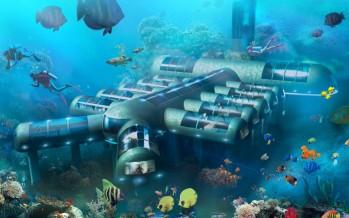 Un hôtel sous-marin en projet à Tampa (Floride)