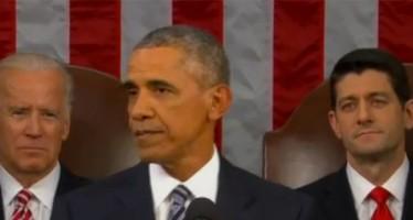 Obama : larmes et détermination pour débuter sa dernière année à la Maison-Blanche