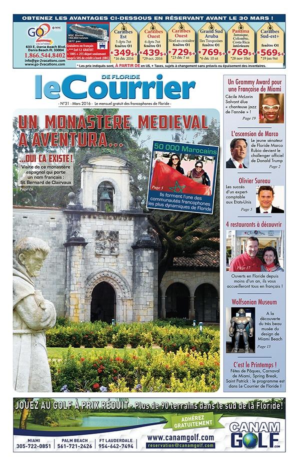 Le Courrier de Floride - Mars 2016