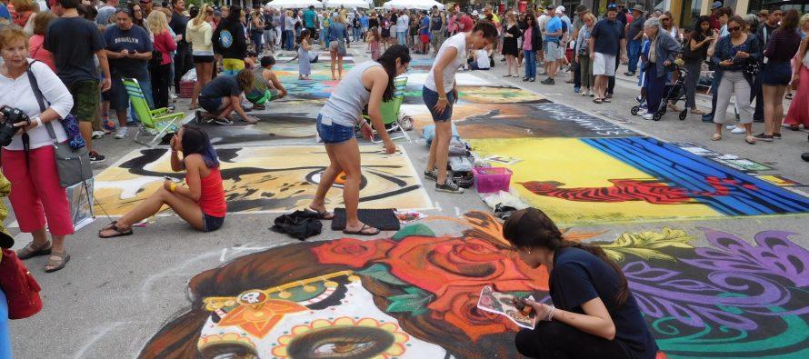 Le Street Painting Festival de Lake Worth : c'est à voir en Floride en février !