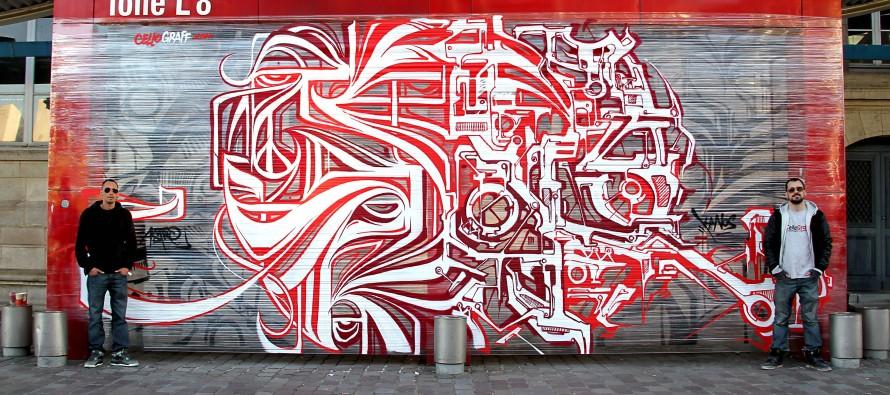 Les artistes français Astro et Kanos à Miami