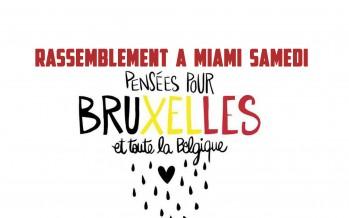 Miami : manifestation en soutien à la Belgique samedi à 14h