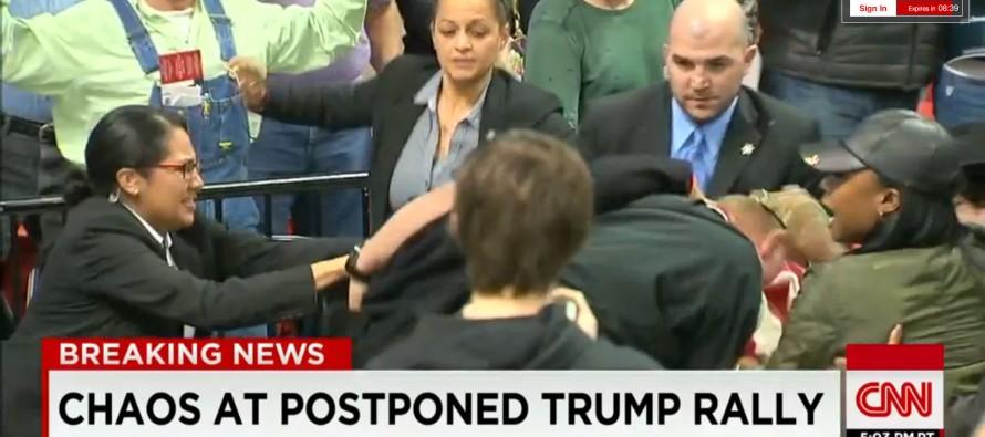 Le meeting de Trump à Chicago envahi par des manifestants et annulé