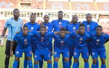Football : match Haïti-Colombie à Miami